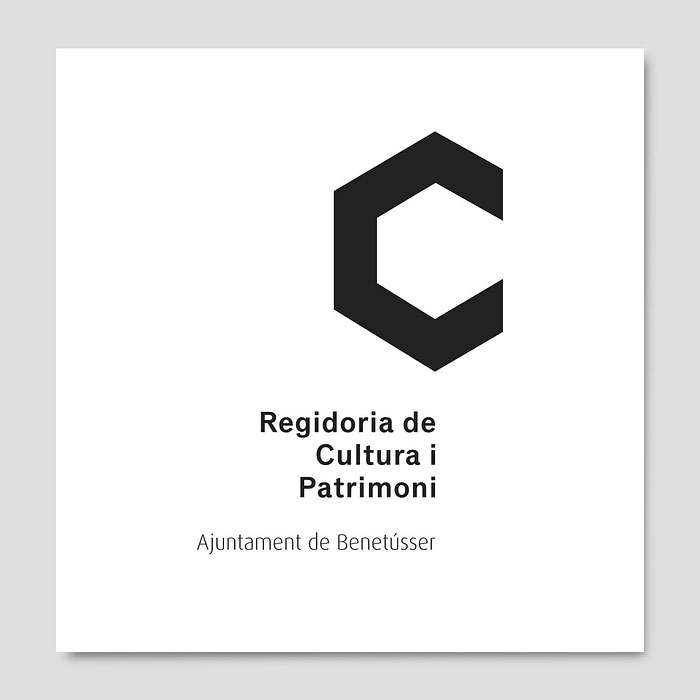 Identidad corporativa Regidoria de Cultura i Patrimoni Benetússer, por Creatias Estudio