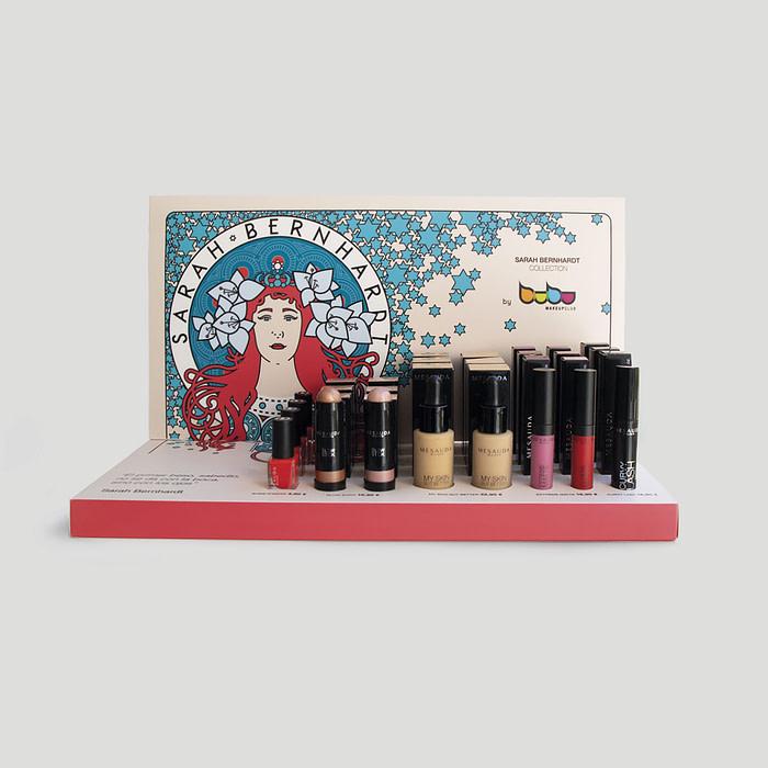 Campaña Sarah Bernhardt Collection Bubu Makeup por Creatias