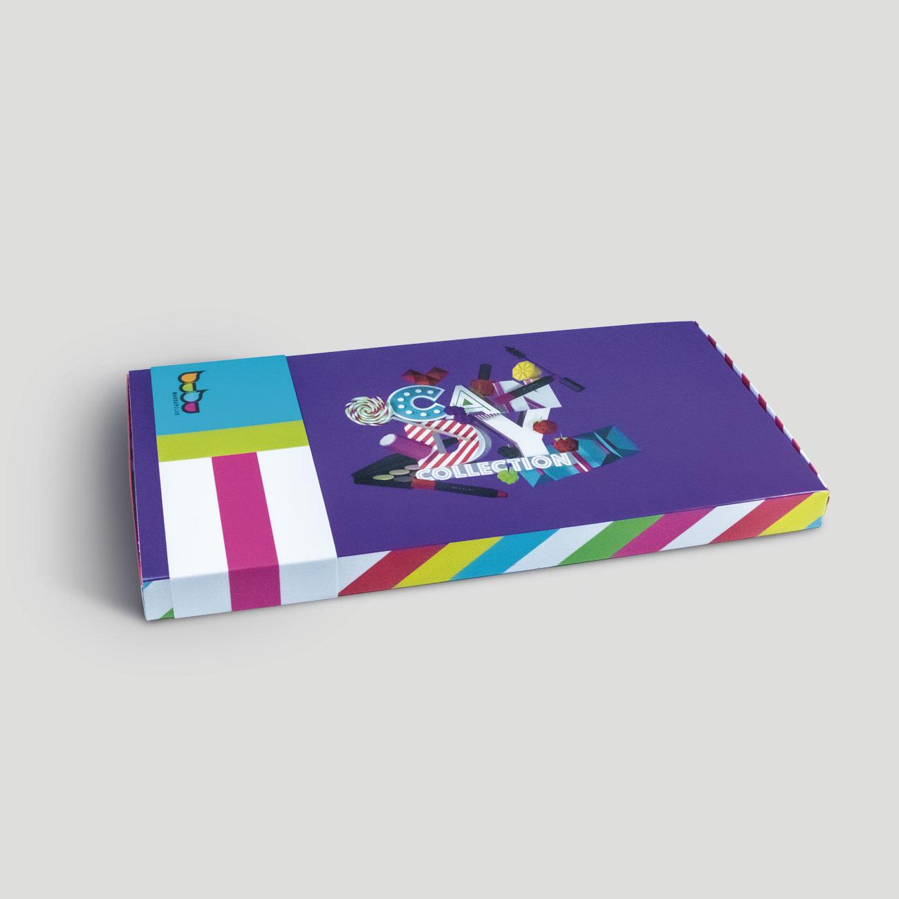 Packaging Candy Bubu Makeup por Creatias Estudio