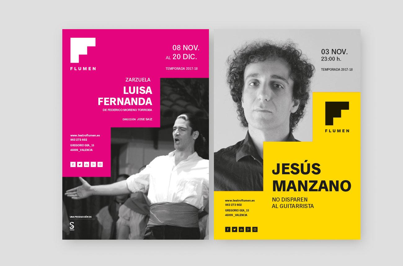 Carteles Teatro Flumen
