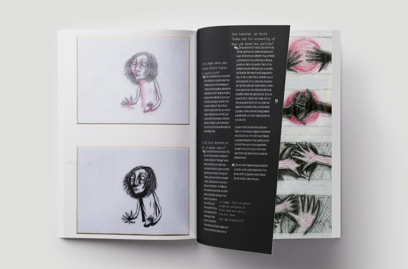 Diseño editorial Trazos de luz por Creatias Estudio