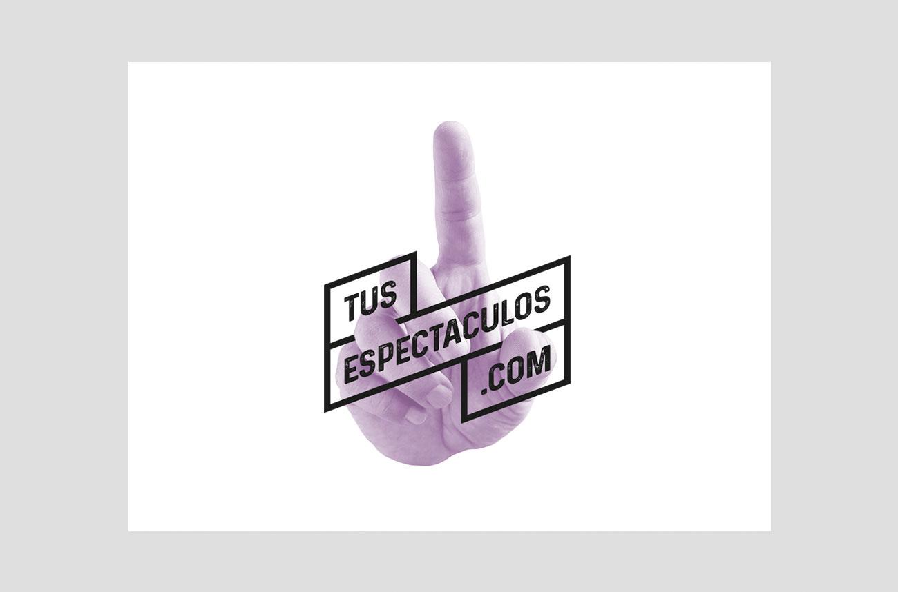 Identidad corporativa tusespectaculos.com por Creatias Estudio