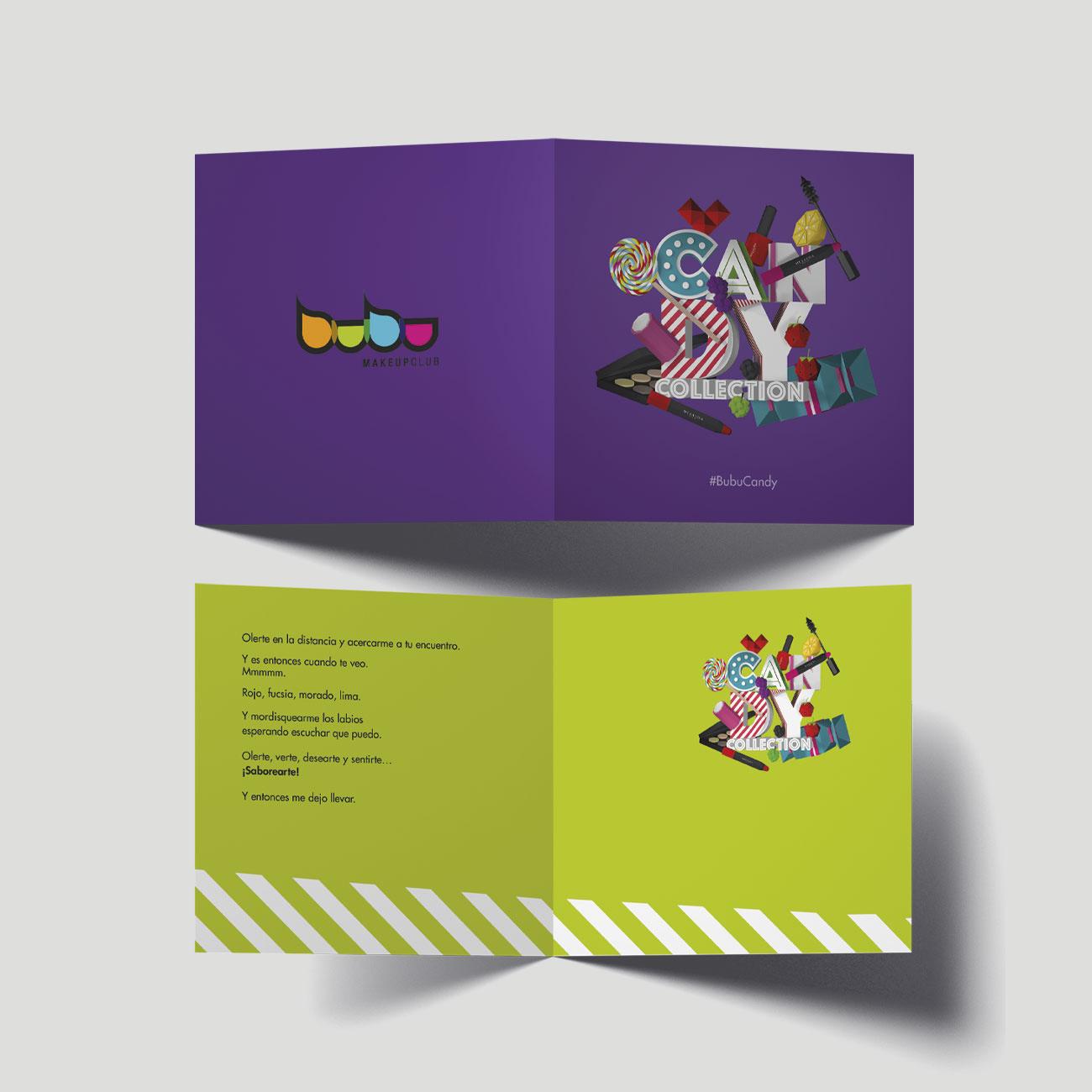 Folleto Candy por Creatias Estudio