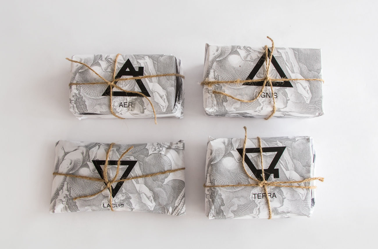 Packaging Elements Bubu Makeup por Creatias Estudio