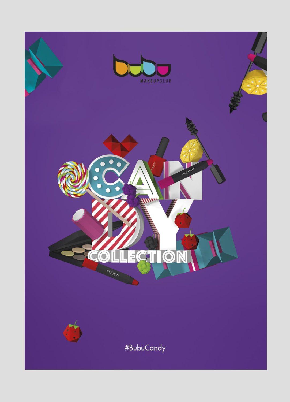 Cartel Candy Collection por Creatias Estudio
